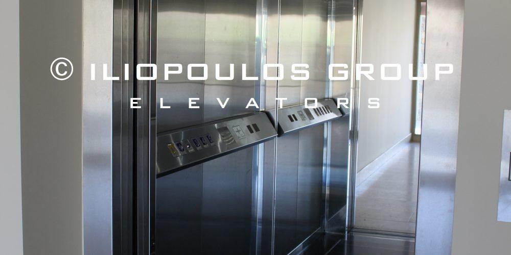 Elevator in Hotel In Agios Nikolaos.